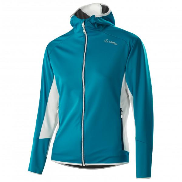 Löffler - Women's Kapuzenjacke Windstopper Light - Cross-country ski jacket