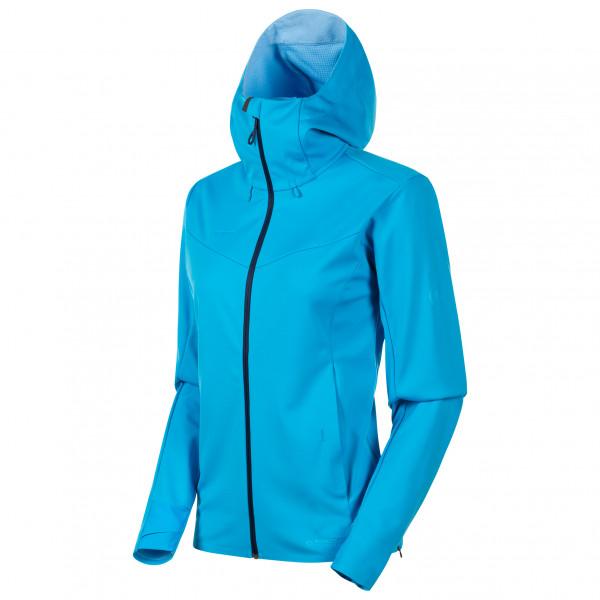 Mammut - Women's Ultimate V SO Hooded Jacket - Softshelljacke