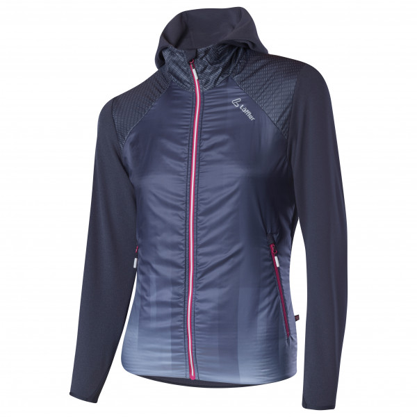 Löffler - Women's Hooded Jacket Speed Primaloft Next - Langlaufjacke