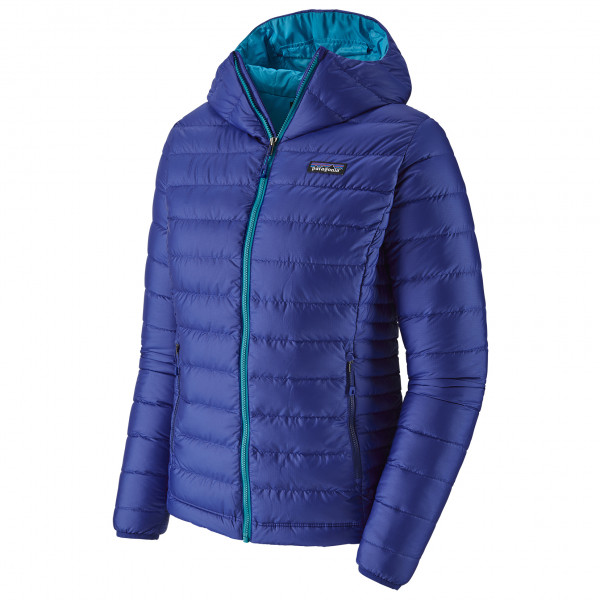 Patagonia Women's Down Sweater Hoody Daunenjacke Cobalt Blue | XL
