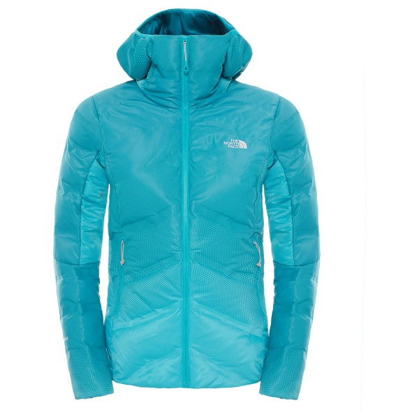The North Face - Women's Fuseform Dot Matrix Hooded Down Jkt