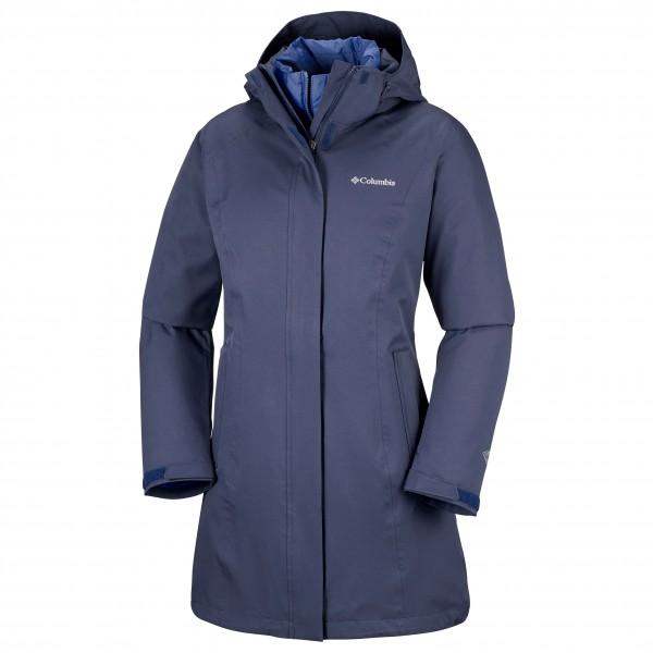 Columbia - Women's Salcanta Long Interchange Jacket - Kaksiosainen takki