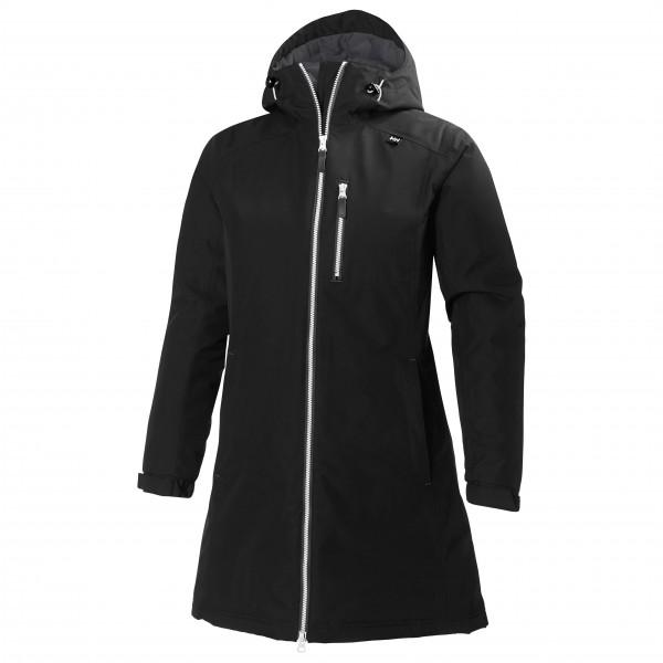 online retailer b0498 2dd31 Helly Hansen - Women's Long Belfast Winter Jacket - Giacca invernale -  Black   S