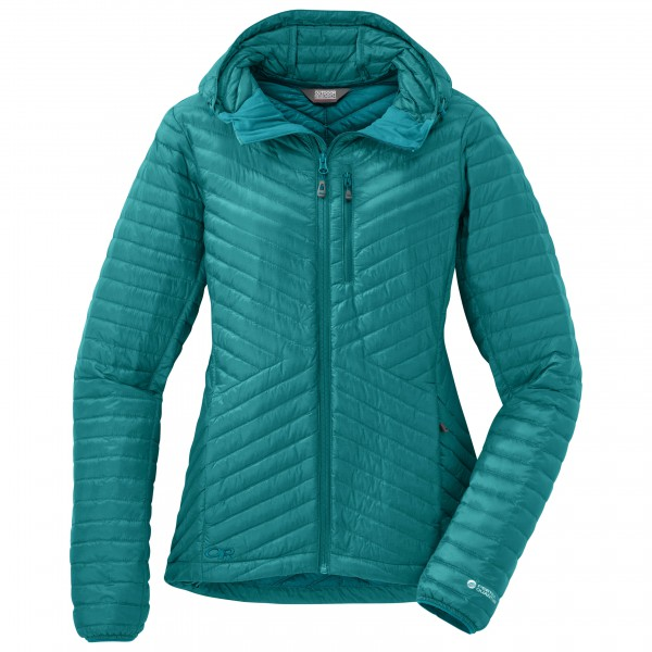 Outdoor Research - Women's Verismo Hooded Down Jacket - Untuvatakki