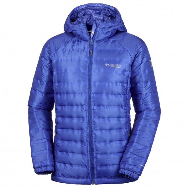 Columbia - Women's Titan Ridge Down Hooded Jacket - Dunjacka