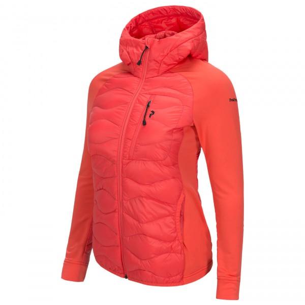 Peak Performance - Women's Helium Hybrid Hood Jacket - Untuvatakki