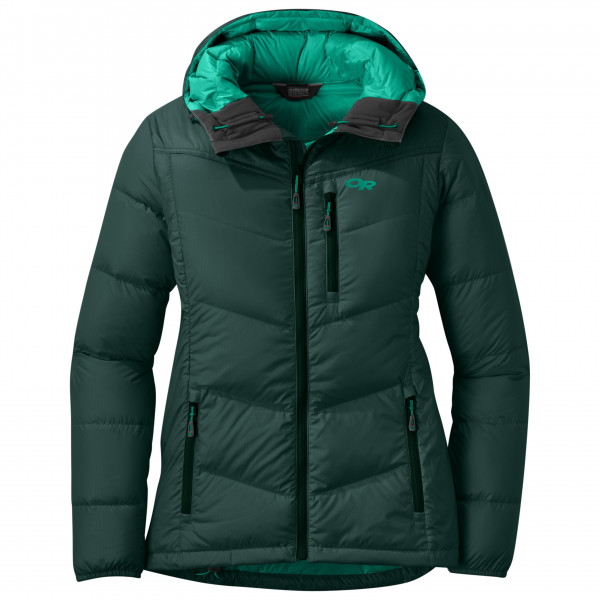 Outdoor Research - Women's Transcendent Down Hoody - Donzen jack