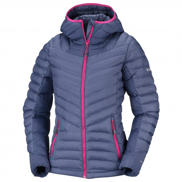 Columbia - Women's Windgates Hooded Jacket - Syntetisk jakke