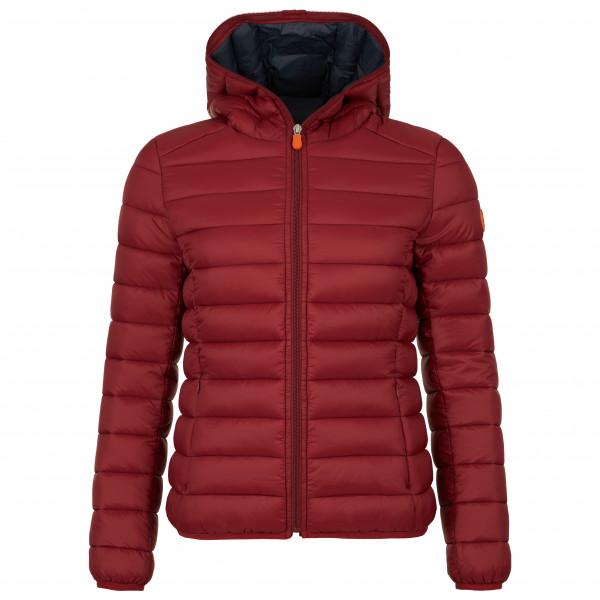 Save the Duck Women's GIGA Hooded Jacket Kunstfaserjacke Ruby Red | S 1