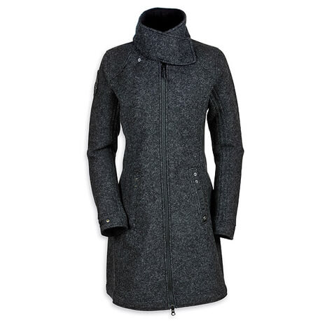 Tatonka - Women's Fraya Coat - Woll-/ Fleecemantel