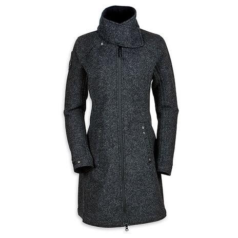 Tatonka - Women's Fraya Coat - Woll-/ Fleecemantel