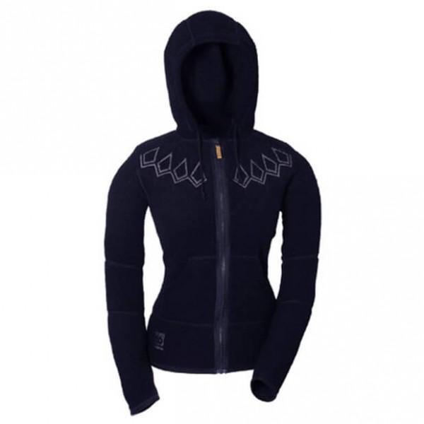 66 North - Women's Kaldi Hooded Sweater - Wolljacke