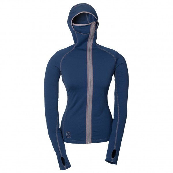 66 North - Women's Vik Hooded Sweater - Fleecetakki