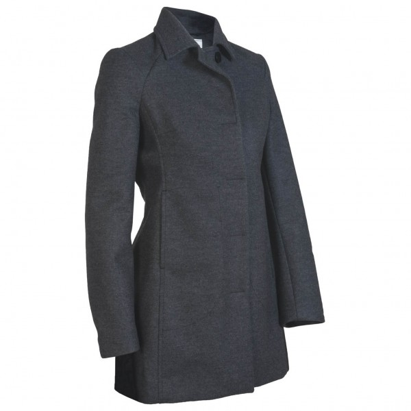 Icebreaker - Women's Pure Plus Coastal Mayfair - Wool coat