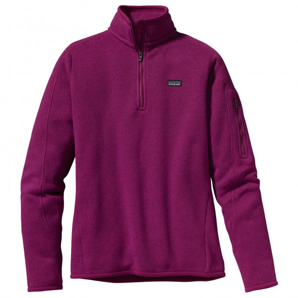 Patagonia - Women's Better Sweater 1/4-Zip - Fleecepullover
