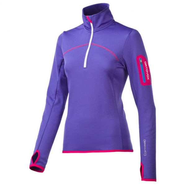 Ortovox - Women's Fleece Zip Neck - Merino trui