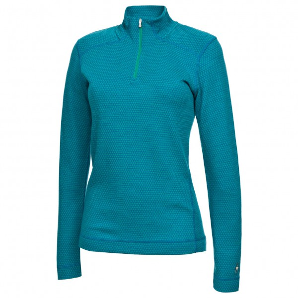 Smartwool - Women's Midweight Pattern Zip T - Long-sleeve