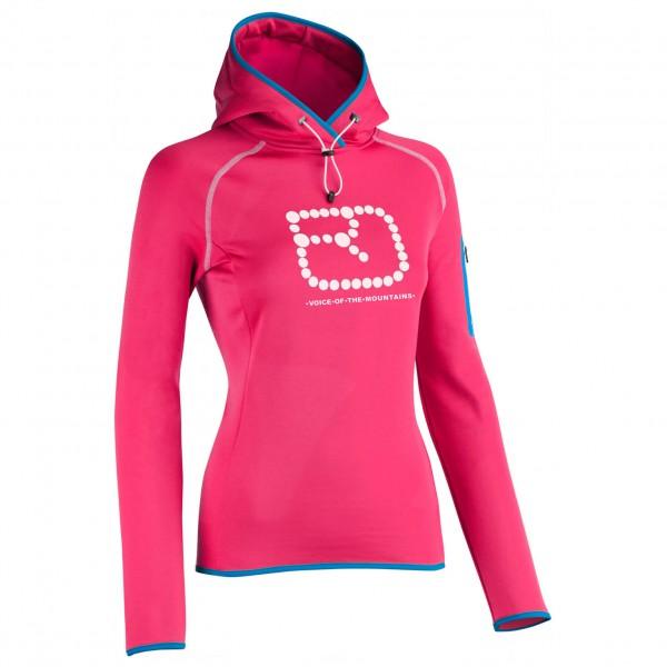 Ortovox - Women's Fleece (MI) Logo Hoody - Merino trui