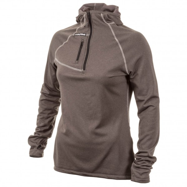 NW Alpine - Women's Black Spider Hoody - Fleecepullover