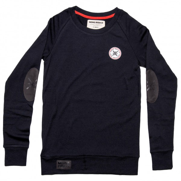 Mons Royale - Women's Jersey Crew Classic - Merinopullover