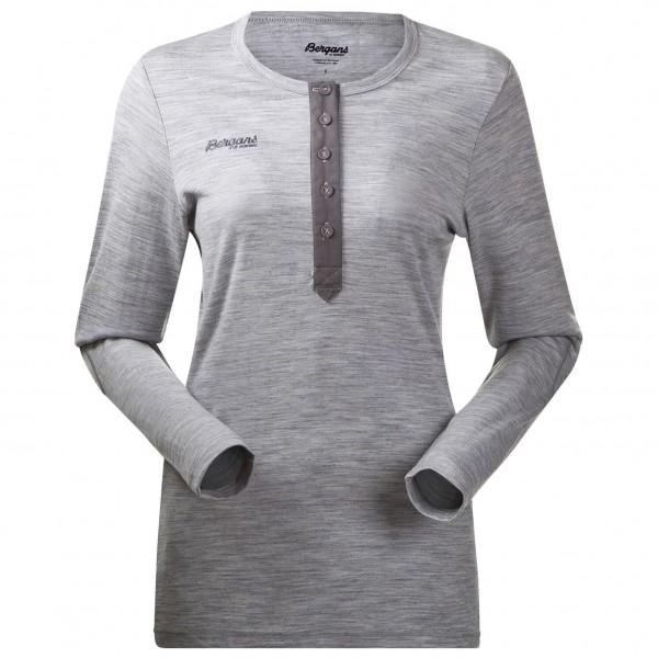 Bergans - Henley Wool Lady Shirt - Merino trui