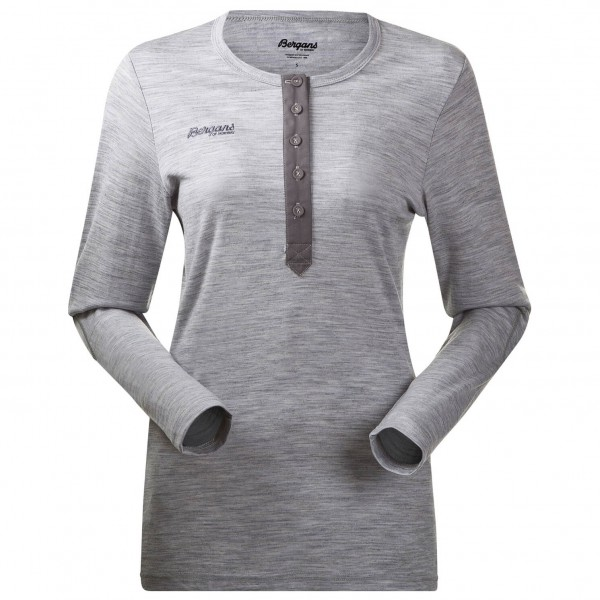 Bergans - Henley Wool Lady Shirt - Merinopullover