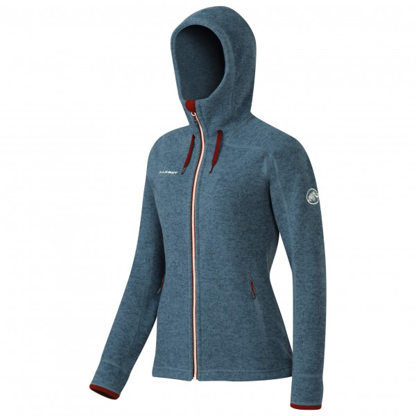 Mammut - Women's Arctic Hooded Midlayer Jacket - Fleecetakki