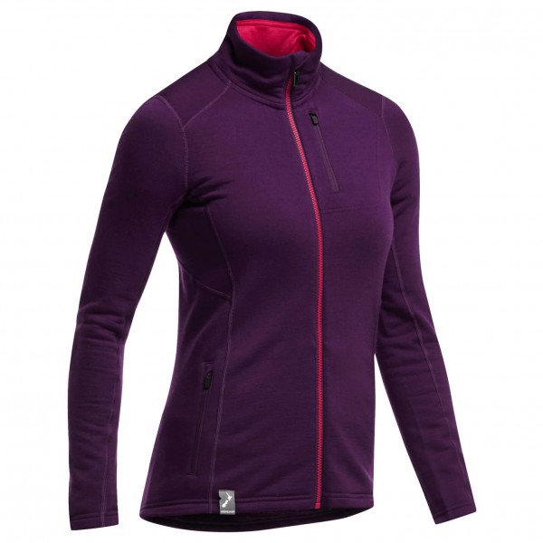 Icebreaker - Women's Cascade LS Zip - Wool jacket