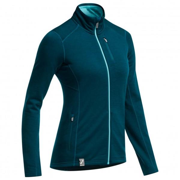 Icebreaker - Women's Cascade LS Zip Stripe - Veste en laine