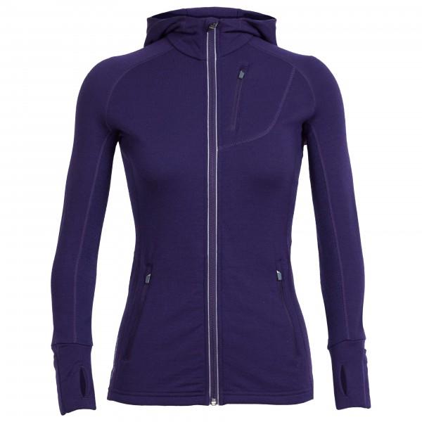 Icebreaker - Women's Quantum LS Zip Hood - Veste en laine