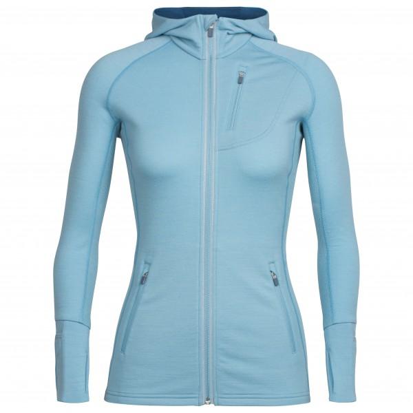 Icebreaker - Women's Quantum LS Zip Hood - Wool jacket