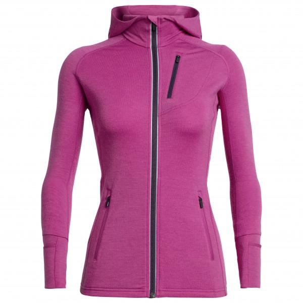 Icebreaker - Women's Quantum LS Zip Hood - Merino jacket