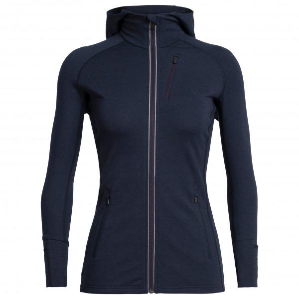 Icebreaker - Women's Quantum L/S Zip Hood - Merino jacket