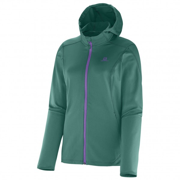 Salomon - Women's Discovery Hooded Midlayer - Fleecejack