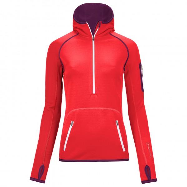 Ortovox - Women's Fleece Zip Neck Hoody - Fleecepulloveri