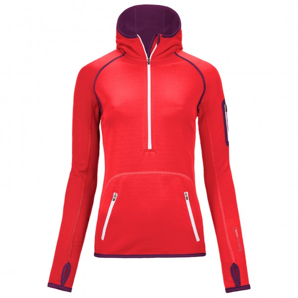 Ortovox - Women's Fleece Zip Neck Hoody - Pull-over polaire