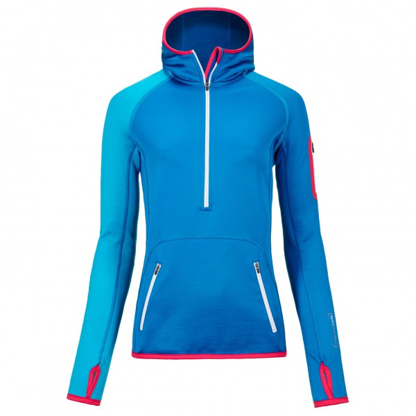 Ortovox - Women's Fleece Zip Neck Hoody - Fleece jumpers