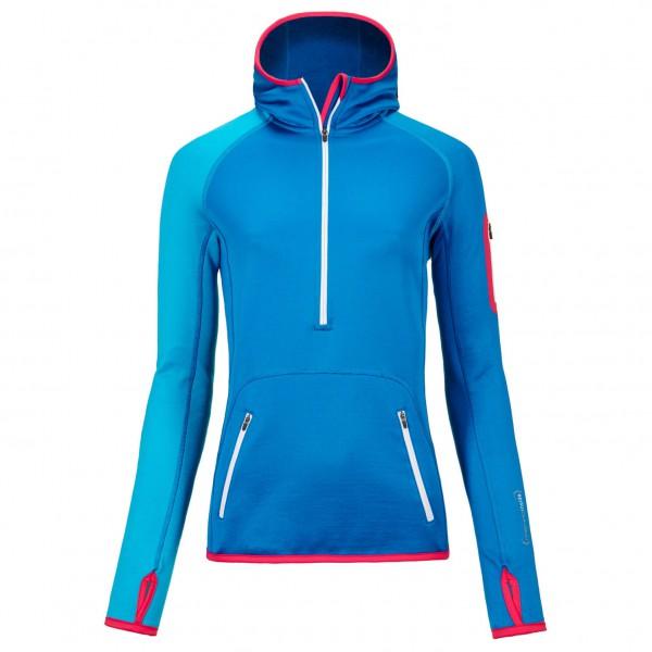 Ortovox - Women's Fleece Zip Neck Hoody - Fleecesweatere