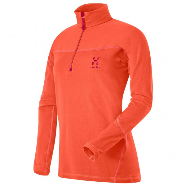 Haglöfs - Actives Warm II Q Zip Top - Merino trui