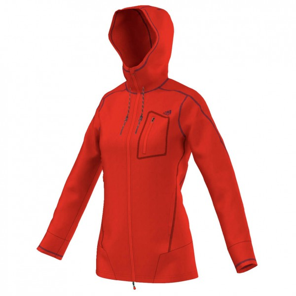 Adidas - Women's ED Teddy Fleece Hoody - Fleece jacket