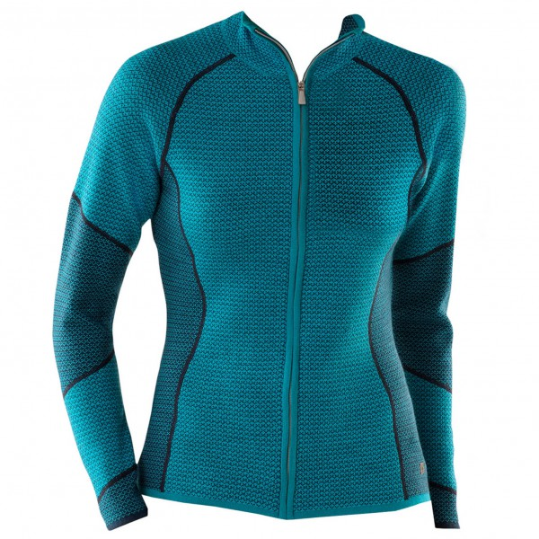 Smartwool - Women's Alamosa Double Knit Full Zip - Wolljacke
