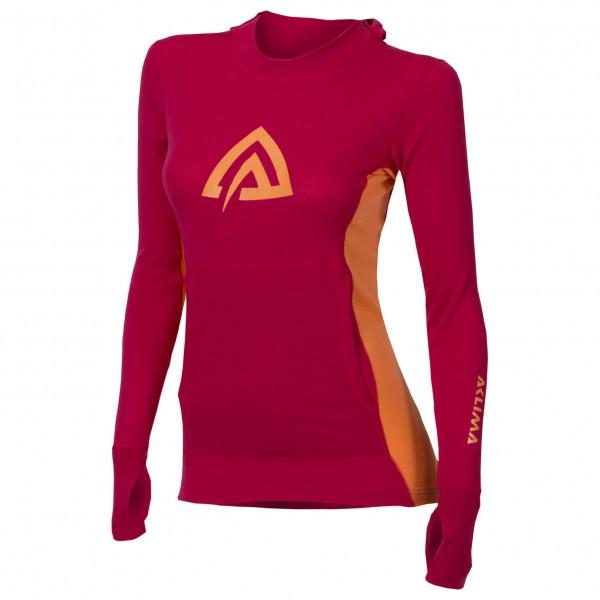 Aclima - Women's WW Hood Sweater - Överdragströjor merinoull