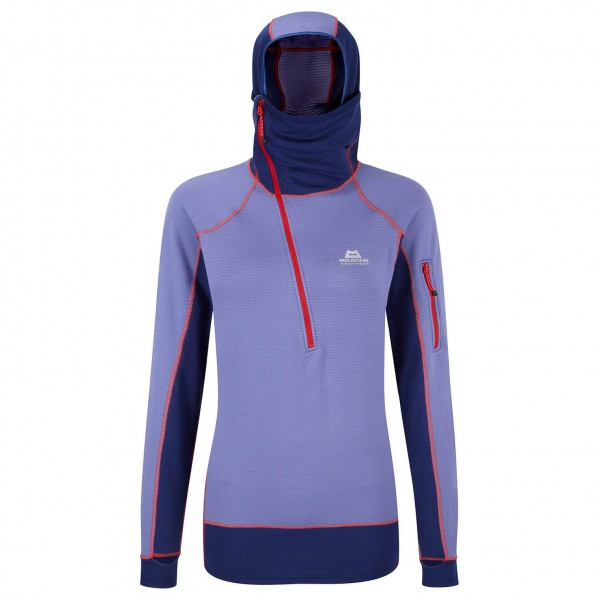 Mountain Equipment - Women's Hooded Eclipse Zip Tee