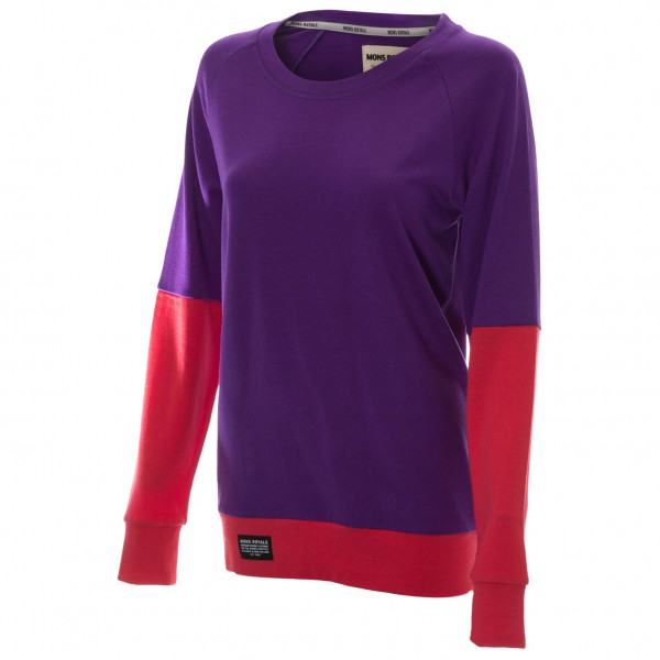 Mons Royale - Women's Jersey Crew - Merino sweater