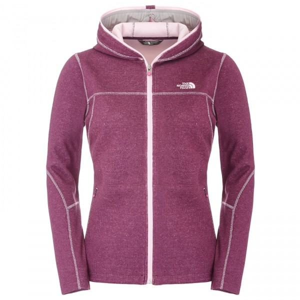 The North Face - Women's Andermatt FZ Hoodie - Fleecetakki