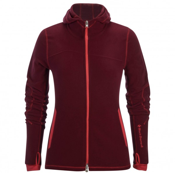 Black Diamond - Women's Boulder Hoody - Fleece jacket
