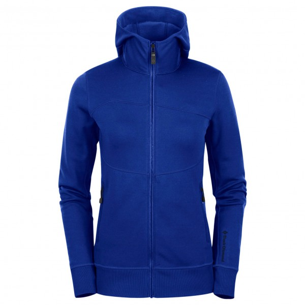 Black Diamond - Women's Deployment Hoody - Wollen jack