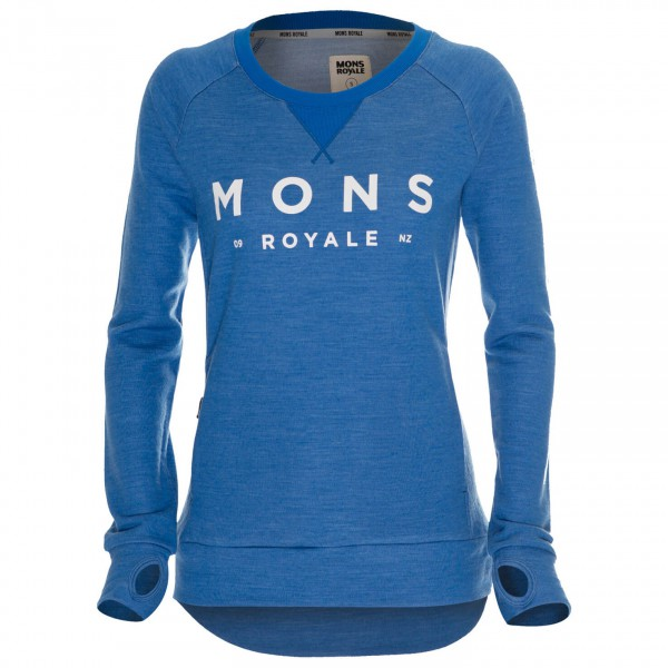 Mons Royale - Women's Tech Sweat - Merinopullover