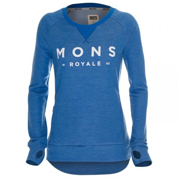 Mons Royale - Women's Tech Sweat - Merinopullover