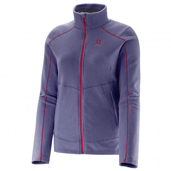 Salomon - Women's Contour Fz Midlayer - Fleecejacke